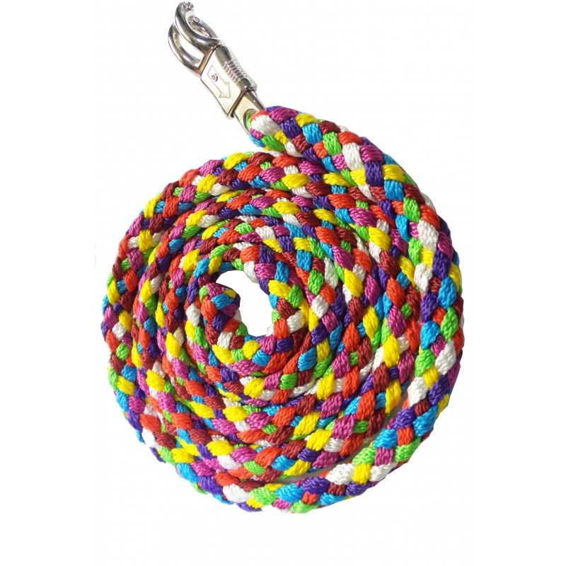 Multi-color PP lead rope